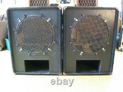 1 Pair CUSTOM-BUILT 18 SUBWOOFERS PA DJ PRO Audio Unloaded