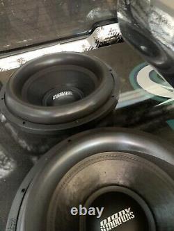 (1)sundown Audio X-15 V. 2 D2 Pro 15 Dual 2-ohm 1500w Rms Bass Subwoofer Speaker