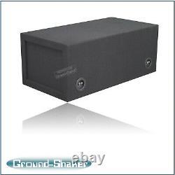 12 Dual Center Vented/ported sub box Subwoofer Enclosure Speaker box Car Audio