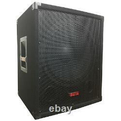 15 Big Bottom Bass Subwoofer Speaker 1000 Watts Adkins Pro Audio DJ Speaker