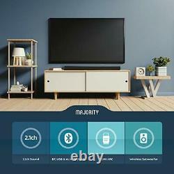 150W Bluetooth/Wireless Soundbar & Subwoofer Home Theatre/Surround Sound System