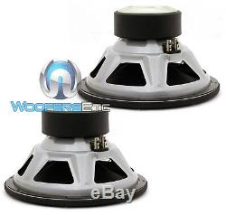2 Jl Audio 12w3v3-2 Car 12 Subs 2-ohm 2000w Max Subwoofers Bass Speakers New