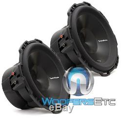 2 Rockford Fosgate Punch P3d2-12 Subs 12 Dual 2-ohm 1200w Subwoofers Speakers