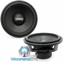 (2) Sundown Audio Sa-15 D4 Classic 15 750w Rms Dual 4-ohm Subwoofers Speakers