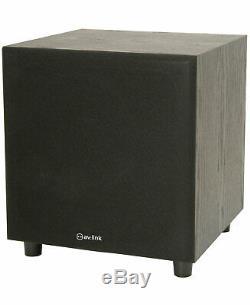 200W Active Subwoofer Bass Sub Woofer Speaker 8 170.190UK Home Cinema Sound