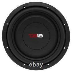 2x 10 Shallow Mount Subwoofers 2000W 4 Ohm Pro Audio Bass Speakers DS18 SW10S4