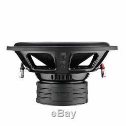 2x 12 Subwoofer 2900W Dual 4+4 Ohm Car Audio Bass Speaker DS18 Elite Z-VX12.4D