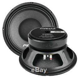 2x PRV Audio 10 Sub Woofer Alto Pro Audio Bass Speaker 1300W 8 Ohm