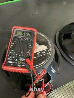 3 Jl Audio 12 W6 DVC 300w Rms Competition Subwoofer Sub 12w6 Jlaudio Speaker