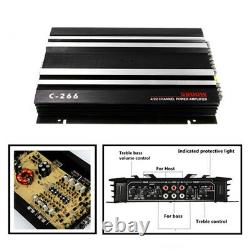 4 Channel 5800W SUV Trucks Car Amplifier Stereo Audio Speaker Amp For Subwoofer