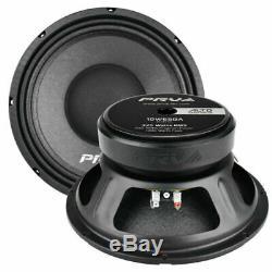 4 x PRV Audio 10W650A 10 Sub Woofer Alto Pro Audio Bass Speaker 650W 4 Ohm