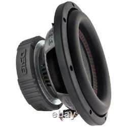 8 Car Audio Subwoofer 1600W Max SVC 4 Ohm Bass Sub Speaker 2 Pair DS18 SLC-8S