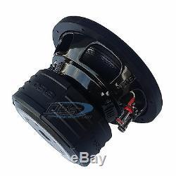 8 Subwoofer 1800W Dual 4 Ohm Car Audio Truck Bass Speaker Sub 1 Pair DS18 Z8