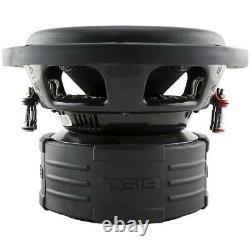 8 Subwoofer 3600W Dual 4 Ohm Car Audio Truck Bass Speaker Sub 2 Pair DS18 Z8