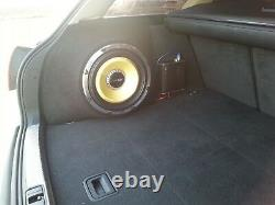 Audi A4 Avant B6 B7 New Stealth Upgrade Sub Enclosure Box Sound Bass Speaker