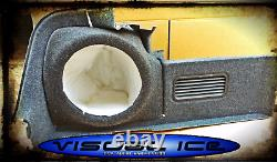 Audi A4 B6 B7 Cabriolet STEALTH SUB SPEAKER ENCLOSURE BOX SOUND BASS AUDIO NEW