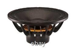 B&C 12NDL88 12 1400W Neodymium Pro Audio Woofer 8-Ohm Mid-Bass Subwoofer (PAIR)