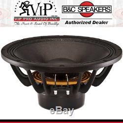 B&C 12NDL88 12 1400W Neodymium Pro Audio Woofer 8-Ohm MidBass Speaker Subwoofer