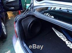 Bmw E82 1 series coupe STEALTH SUB SPEAKER ENCLOSURE BOX SOUND BASS AUDIO 10 12