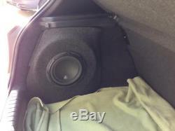 Bmw E87 E81 1 Hatch Stealth Sub Speaker Enclosure Box Sound Bass Audio Car 10 12