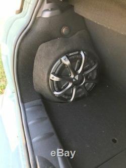 Bmw Mini Cooper R56 Stealth Sub Speaker Enclosure Box Sound Bass Audio Car New