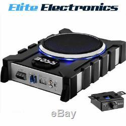 Boss Audio Bass1300.3 8 1300w Amplified Powered Subwoofer + 2 Speaker Channels
