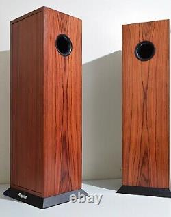 Boxed Rogers Ab1 Subwoofer Units For Ls3/5a Bbc Monitor Speakers. Superb Sound