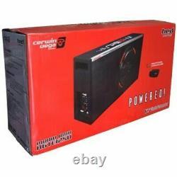 Cerwin Vega H6te12sv 12 Subwoofer 1400w Slim Vented Enclosure Box Bass Amp New