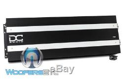 DC Audio 7.5k Monoblock 7500w Rms Class D Subwoofers Speakers Bass Amplifier New