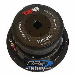 DS18 Z10 10 Car Audio Subwoofer 1500W Max Dual 4 Ohm 10 inch Bass Sub Speaker
