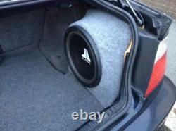 E46 3 Series Saloon 5dr Stealth Sub Speaker Enclosure Box Sound Bass Audio 10 12