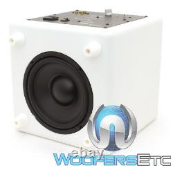 Focal Cub3 White Compact Active 8 Polyflex Subwoofer Bass Speaker Home Theater