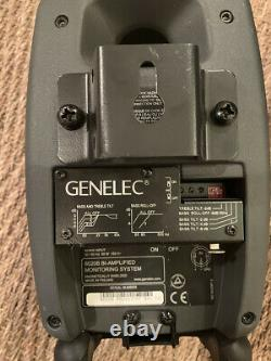 Genelec Sound system 2 speakers, cords and subwoofer