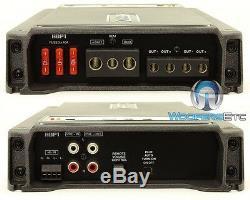 Hertz Audio Hdp-1 Monoblock 2000w Max Power Subwoofers Speakers Car Amplifier