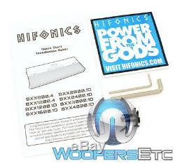 Hifonics Bxx2000.1d Brutus 2000w 1 Ch 4000w Max Subwoofers Speakers Amplifier