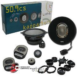 INFINITY KAPPA 50.9cs 5-1/4 2-WAY CAR AUDIO COMPONENT SPEAKERS KAPPA50.9CS
