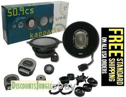 INFINITY KAPPA 50.9cs 5-1/4 2-WAY CAR AUDIO COMPONENT SPEAKERS repl. By 50.11cs