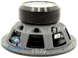 Image Dynamics Idq12 V. 4 D4 12 Sub Dual 4-ohm 1500w Max Subwoofer Speaker New