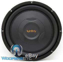 Infinity Ref1200s 12 Sub 1000w Shallow Mount Thin Subwoofer Bass Speaker New