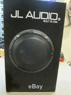 JL AUDIO 8 CAR SUBWOOFER SPEAKER AMPLIFIER PowerWedge FREE SHIPPING