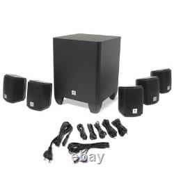 Jbl Cinema510 5.1 Channel Home Theater Surround Sound Speaker System W Subwoofer