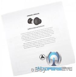 Jl Audio 10w6v3-d4 10 600w Dual Voice Coil 4-ohm Car Bass Subwoofer Speaker New
