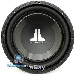 Jl Audio 12w1v3-2 Sub 12 Single 2 Ohm 600w Clean Bass Car Subwoofer Speaker New