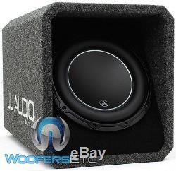 Jl Audio Ho110-w6v3 10 Sub 2-ohm Loaded Subwoofer Enclosure Bass Speaker New
