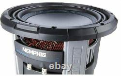 MEMPHIS M71012 SUB 10 1500W SELECTABLE 1- or 2-OHM IMPEDANCE SUBWOOFER SPEAKER