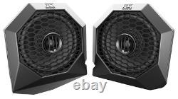 MTX RZRBT4 Bluetooth Audio System Subwoofer Amp 4x Speakers for Polaris RZR