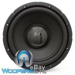 Memphis Brx1244 12 Sub 800w Max Dual 4-ohm Car Audio Subwoofer Bass Speaker New