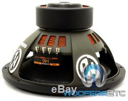 Memphis M615d2 15 Sub Pro Car Audio 1800w Dual 2-ohm Subwoofer Bass Speaker New