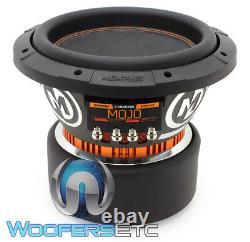 Memphis Mojo 610d2 10 Sub 2200w Dual 2-ohm Car Audio Subwoofer Bass Speaker New