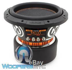 Memphis Mojo 610d4 10 Sub 2200w Dual 4-ohm Car Audio Subwoofer Bass Speaker New
